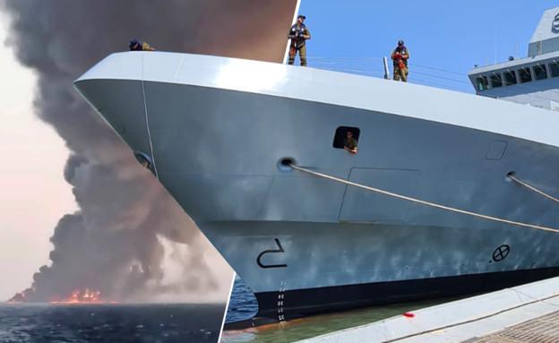 """המבצעים החשאיים של חיל הים מול אירן (צילום: reuters, דובר צה""""ל)"""
