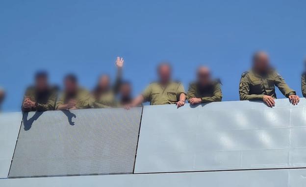 """חיילים בחיל הים (צילום: דובר צה""""ל)"""