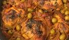 עוף עם זיתים של סבתא עליזה (צילום: פאני דוד, אוכל טוב)