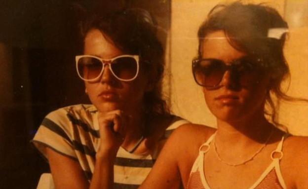 בלוגרית האוכל ליזה פאנלים בצעירותה (צילום: חדשות 12)