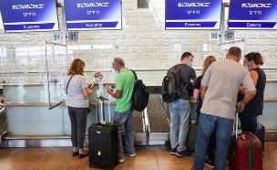 """נתב""""ג, נמל התעופה בן גוריון, טיסות, טיסה (צילום: נתי שוחט, פלאש 90)"""