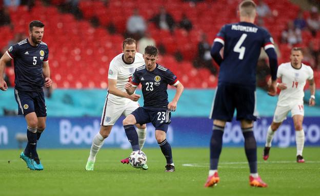 אנגליה נגד סקוטלנד (צילום: רויטרס)
