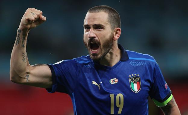 לאונרדו בונוצ'י נבחרת איטליה (צילום: רויטרס)