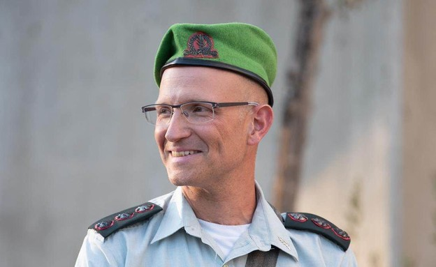 """שרון אסמן, מפקד חטיבת הנח""""ל (צילום: דובר צה""""ל)"""