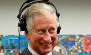 הנסיך צ'ארלס בתוכנית רדיו