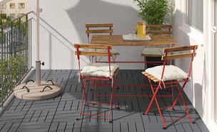 איקאה סייל 2021, שולחן וארבעה כסאות, 375 שקל, במקום 550 שקל (צילום: איקאה)