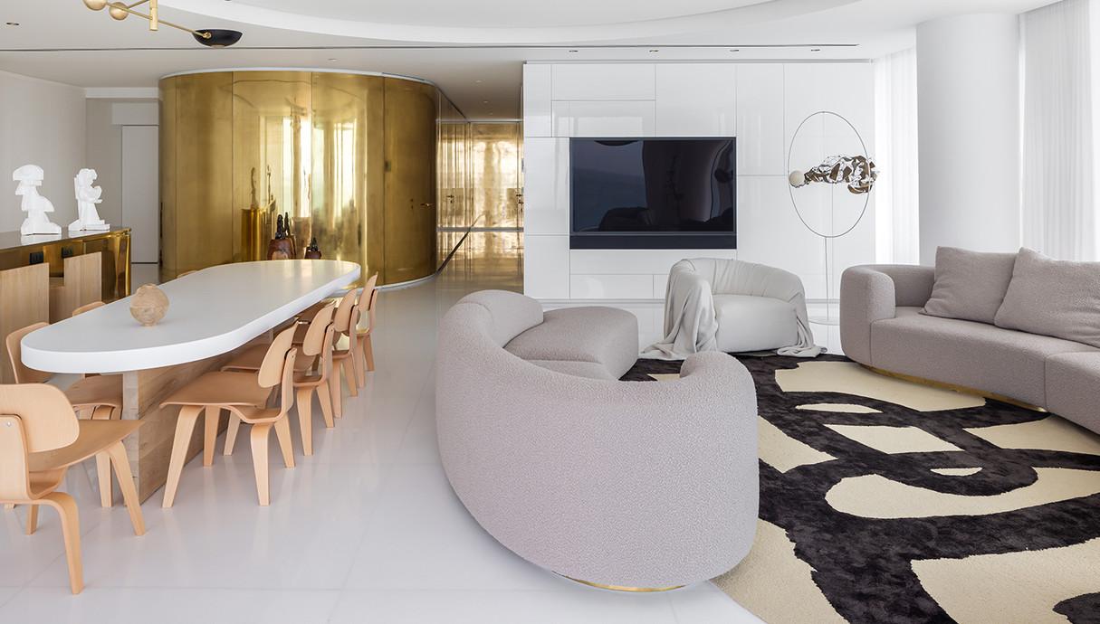 דירה בתל אביב, עיצוב אלכס מייטליס