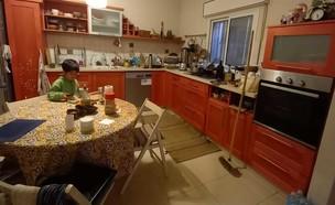 מטבח קרן יוחנן יהודה, לפני (צילום: צדוק יהודה)