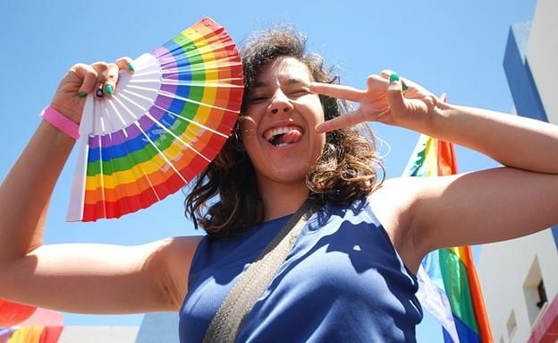 ראשון לציון חוגגת גאווה (צילום: יעד אתגר, באדיבות עיריית ראשון לציון)