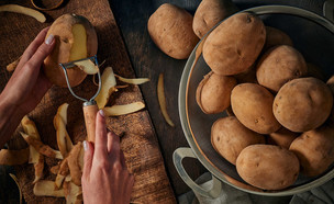 חיתוך תפוחי אדמה (צילום: My social)