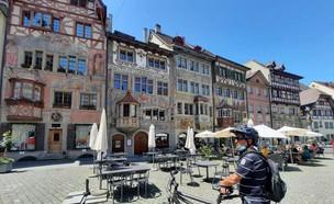 טיול אופניים בשוויץ (צילום: באדיבות המצולמים)