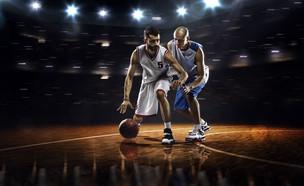 שחקני כדורסל (צילום: Eugene Onischenko, shutterstock)