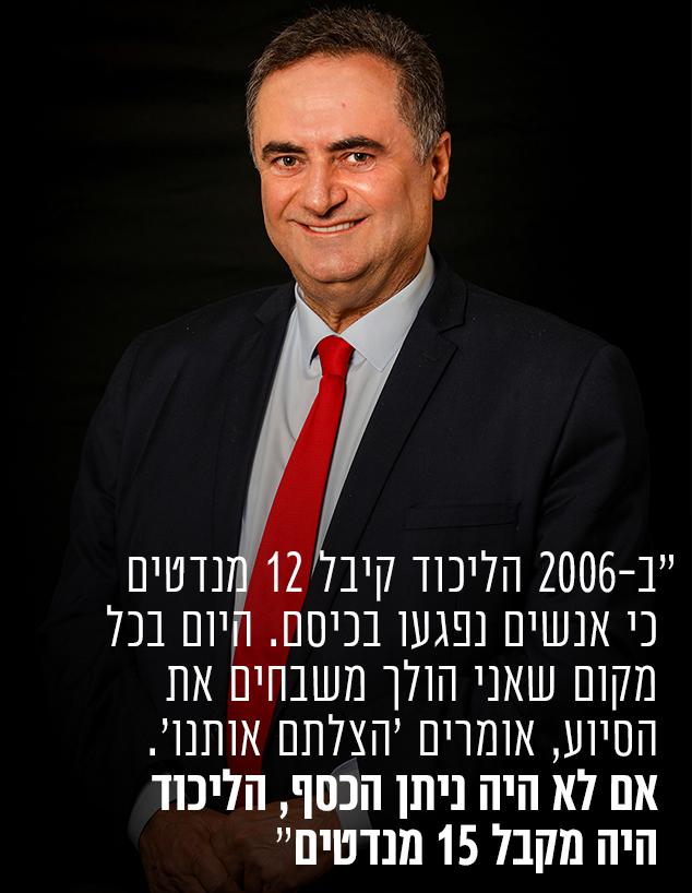 ישראל כץ (צילום: שלומי יוסף)