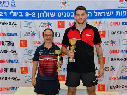 (צילום: אלכס גולדנשטיין, איגוד טניס השולחן בישראל) (צילום: ספורט 5)