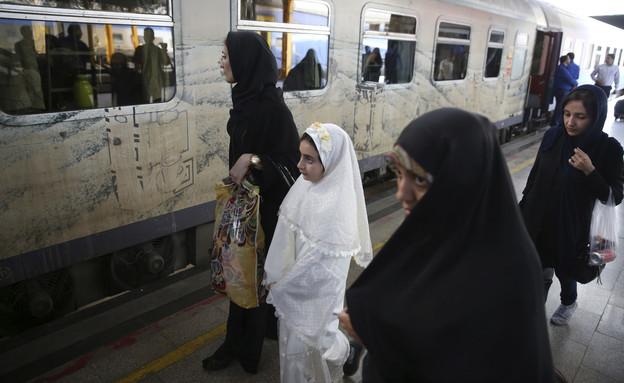 תחנת הרכבת המרכזית של טהראן, אירן. (צילום: AP)