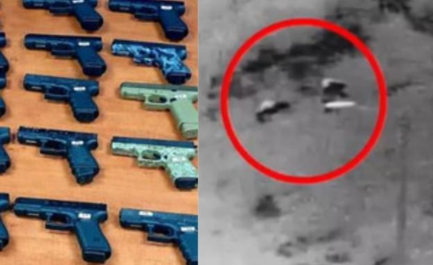 """היעד של הנשק שהוברח מלבנון (צילום: דובר צה""""ל )"""