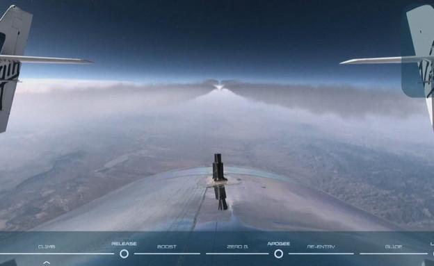 הטיסה האזרחית הראשונה לחלל של ריצ'רד ברנסון (צילום: ap)