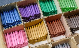 צבעי crayons אקולוגיים (צילום: אינסטגרם, mizuiro.inc)