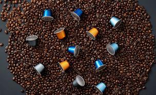 קפסולות קפה עלית מאלומיניום (צילום: אפיק גבאי)