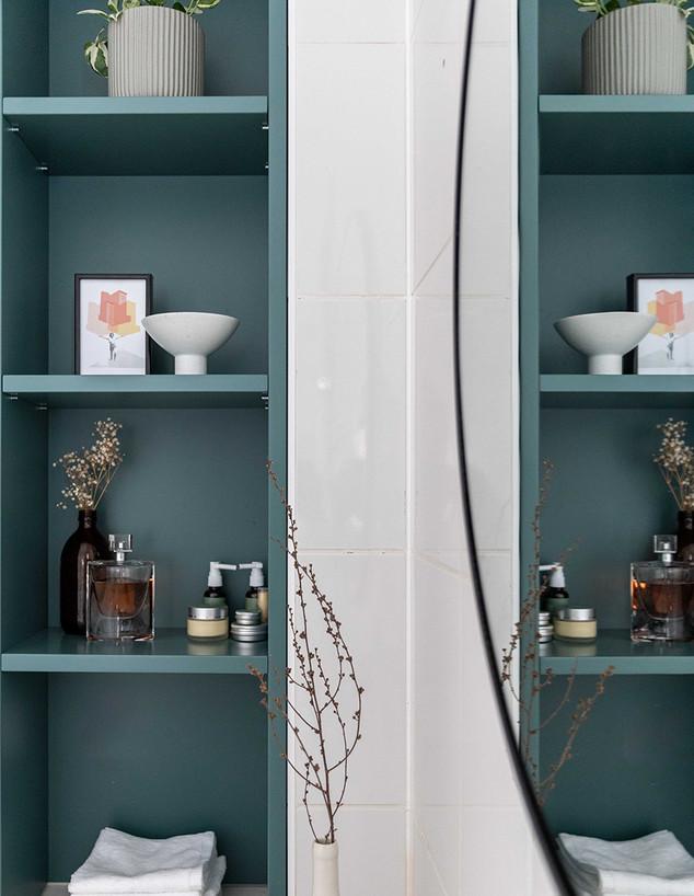 שיפוץ חדרי רחצה, עיצוב רויטל ארז, ג - 1 (צילום: אורית ארנון)
