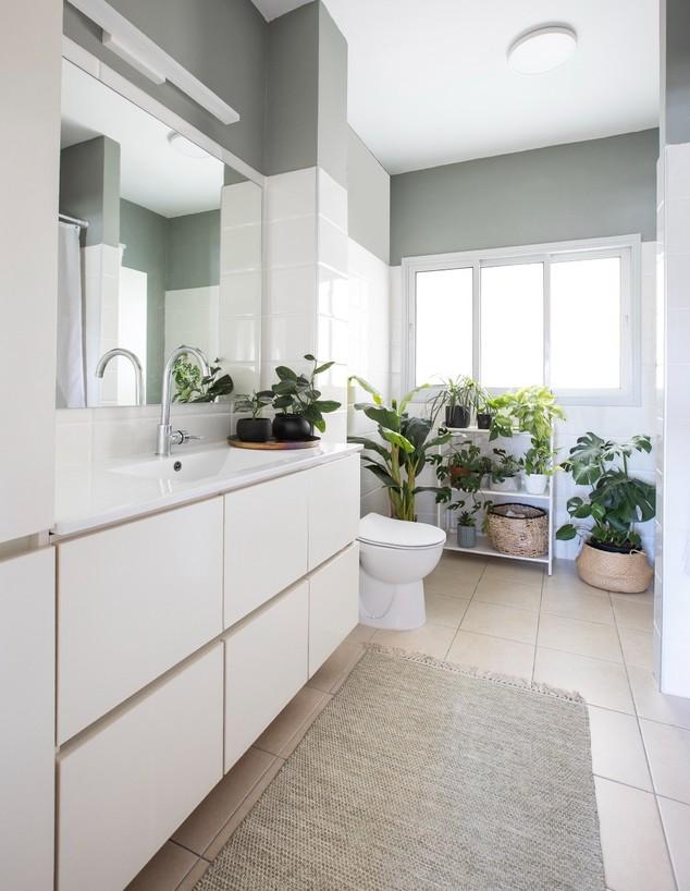 שיפוץ חדרי רחצה, עיצוב רויטל רודצקי, ג (צילום: עידן גור)