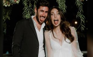 """מעיין ועמרי – החתונה (צילום: אלון גרובר, מתוך """"חתונה ממבט ראשון"""")"""