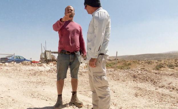 ישכר מן, הבעלים של חוות מן (צילום: חדשות 12)