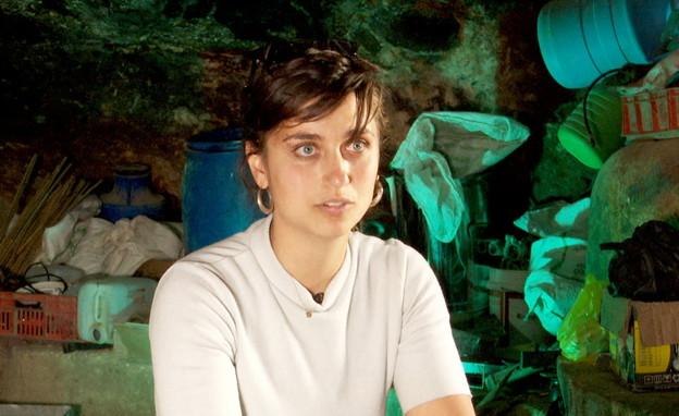 נור צחור, פעילת שמאל (צילום: חדשות 12)