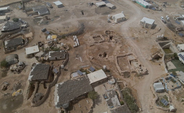 הכפר הפלסטיני ג'ינבה (צילום: חדשות 12)