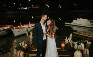 קארין ואיתמר - החתונה 1 (צילום: פיפל פוטוגרפי, חתונה ממבט ראשון)