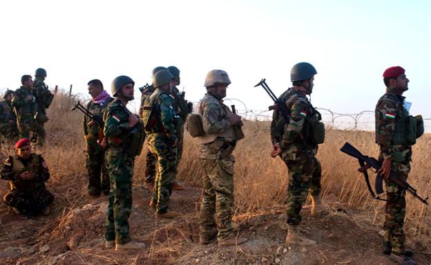 חיילים כורדים (צילום: ap)