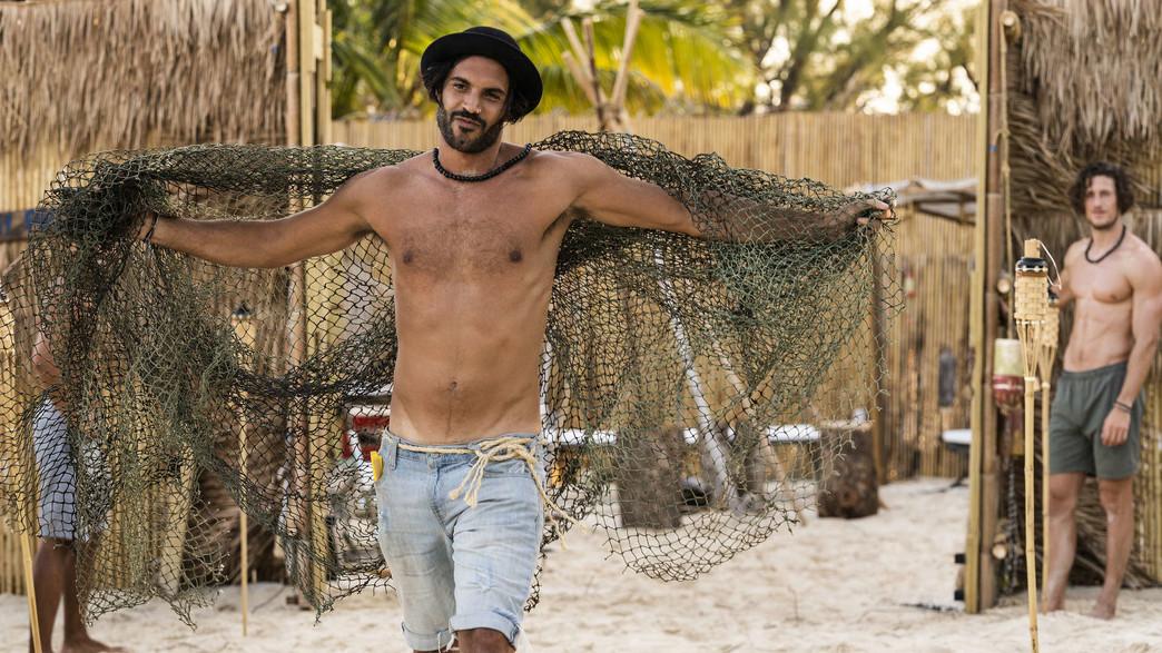"""ישראל דמרי, """"FBOY Island"""" (צילום: HBO מקס, יחסי ציבור)"""
