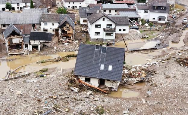 נזקי השיטפונות בגרמניה (צילום: reuters)