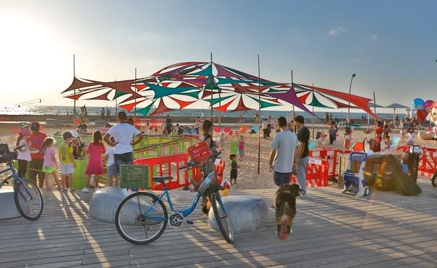 ארועים בחינם 2021 נמלצ'יק בארגז החול, נמל תל אביב (צילום: גיא יחיאלי)