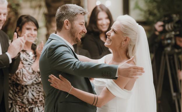 מנור ובן - החתונה 1 (צילום: אלון גרובר, חתונה ממבט ראשון)