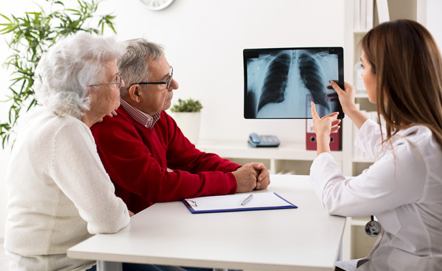 סרטן ריאה (אילוסטרציה: shutterstock)