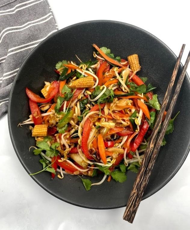 ירקות מוקפצים של רון יוחננוב