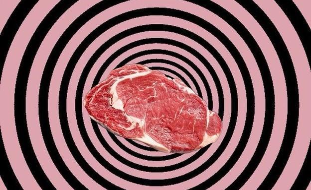 טיפול היפנוטי מודרך לגמילה מאכילת בשר (צילום: מתוך אינסטגרם Raging Pig Co.)