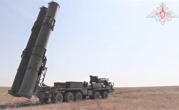 תיעוד ניסוי במערכת הטילים (צילום: mil.ru)