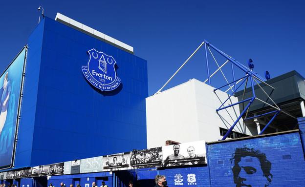 אצטדיון אברטון בליגה האנגלית (צילום: רויטרס)