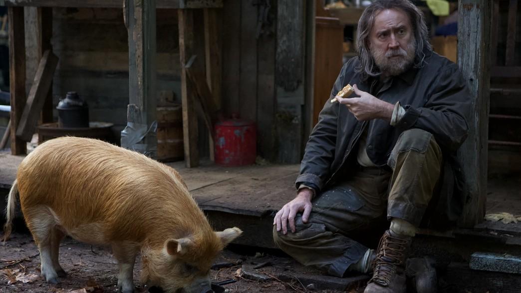 """מתוך """"Pig"""", ניקולס קייג' (צילום: Neon, יחסי ציבור)"""