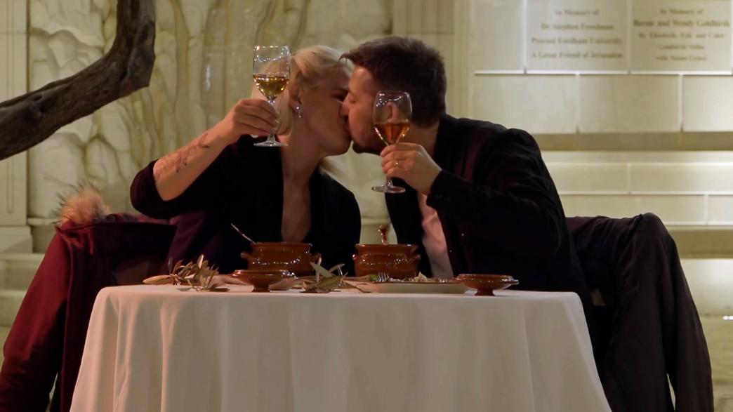 """מנור ובן (צילום: מתוך """"חתונה ממבט ראשון"""", קשת 12)"""