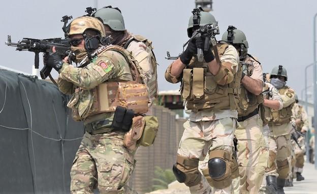 לוחמי היחידה (צילום: SHAH MARAI/AFP, GettyImages)