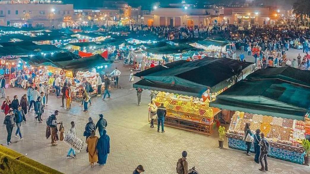 הכיכר המרכזית במרקש (צילום: ליאת כהן רביב)