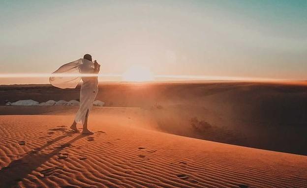 זריחה הסהרה (צילום: ליאת כהן רביב)