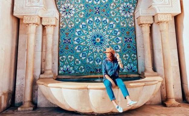 מסגד חסן השני, פאר הבנייה (צילום: ליאת כהן רביב)