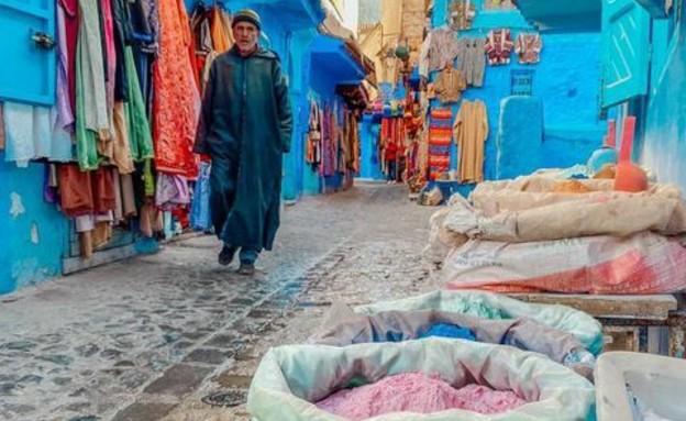 צבעים וריחות בשווקים המקומיים (צילום: ליאת כהן רביב)