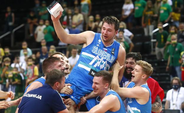 לוקה דונצ'יץ' נבחרת סלובניה בכדורסל (צילום: רויטרס)