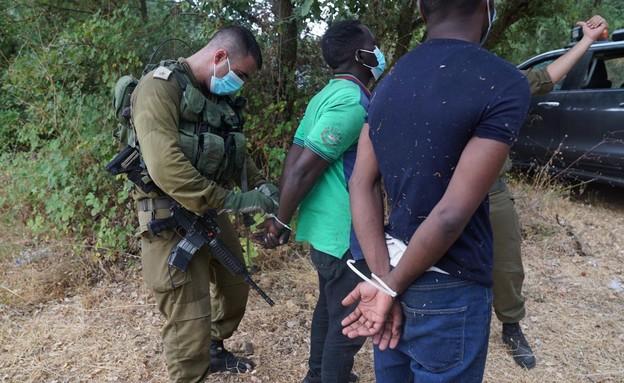 מעצר המסתננים שחדרו מלבנון לישראל