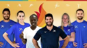 המשלחת הישראלית טוקיו 2020 לוח התחרויות (צילום: עמוד הפייסבוק של הוועד האולימפי בישראל)